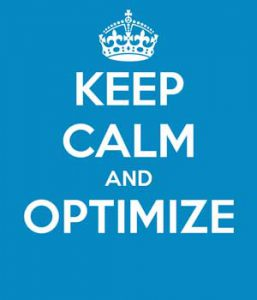 optimize